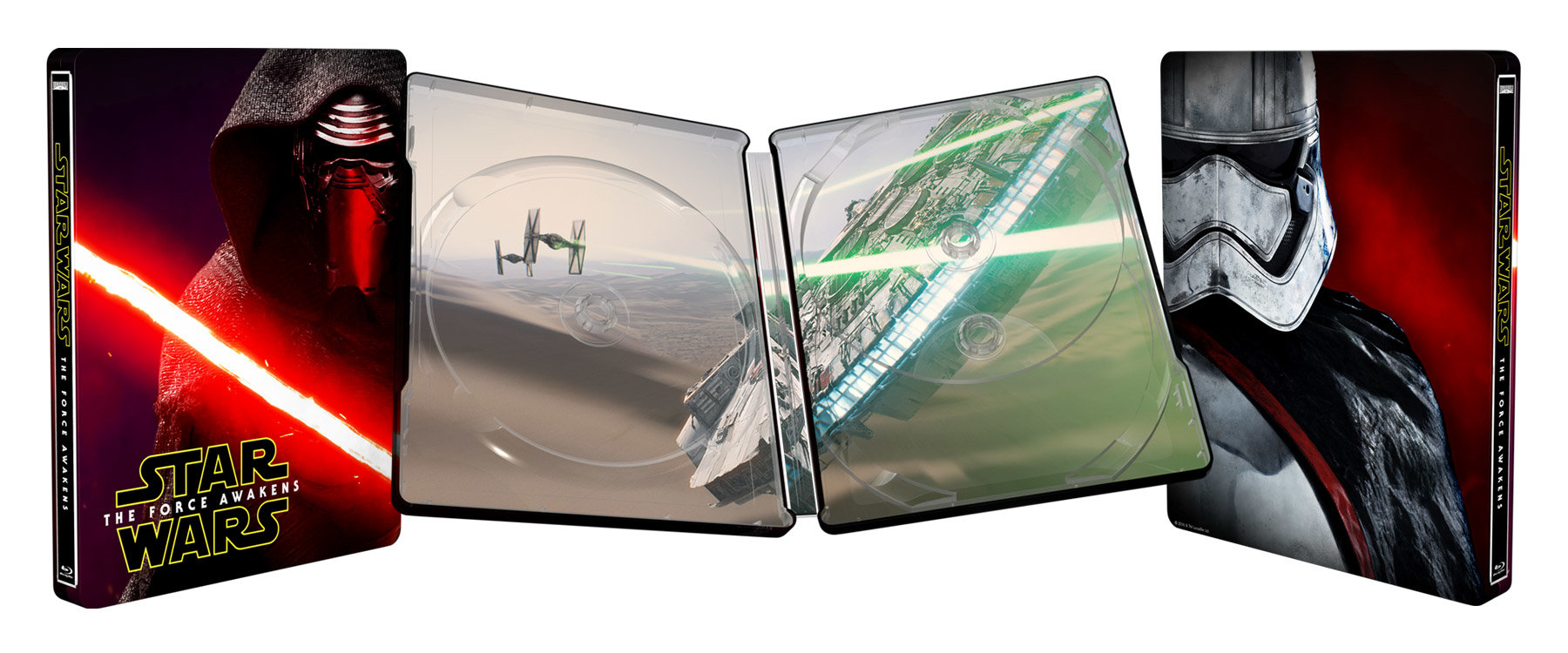 Star Wars Le Réveil De La Force Steelbook Best Buy