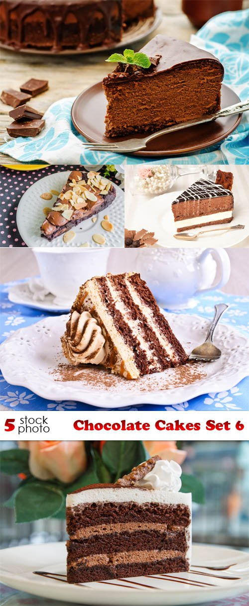Photos - Chocolate Cakes Set 6