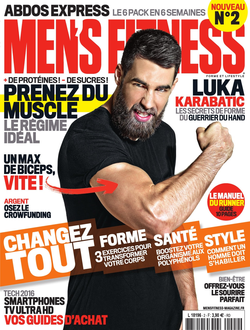 Men's Fitness N°2 - Avril 2016