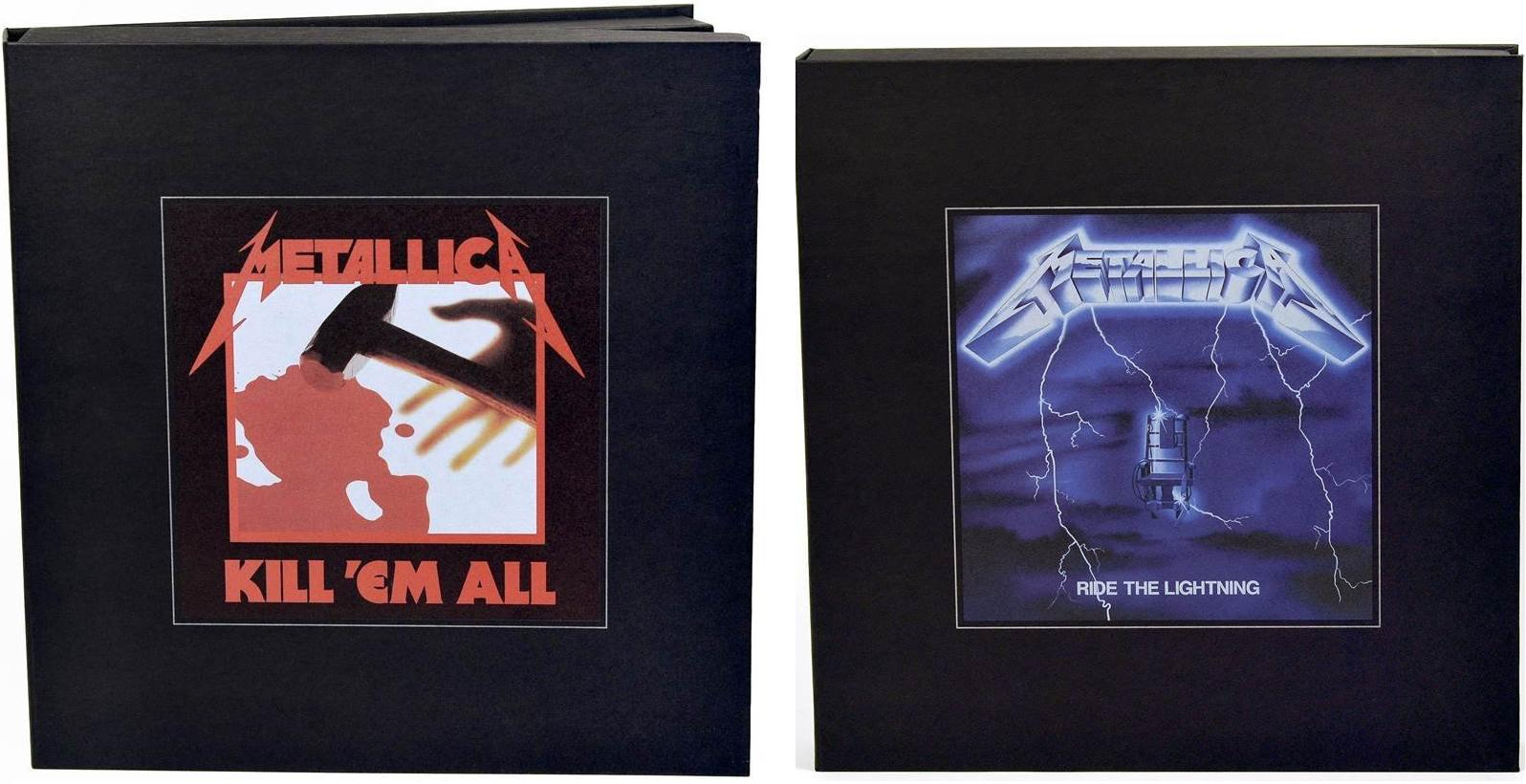 Metallica Kill' Em All et Ride The Lightning Remasterisé