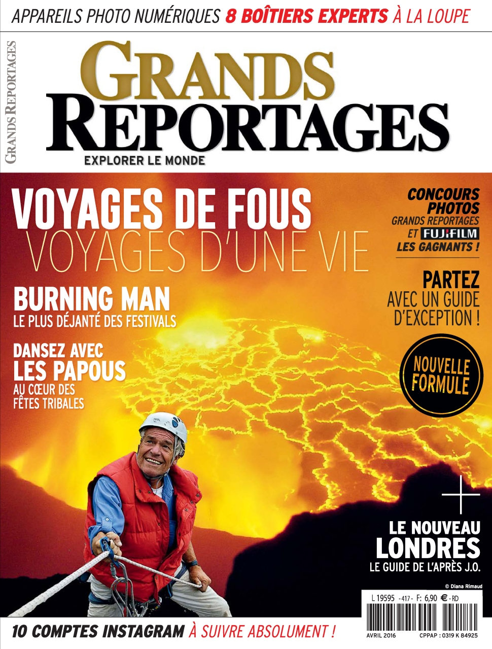 Grands Reportages N°417 - Avril 2016