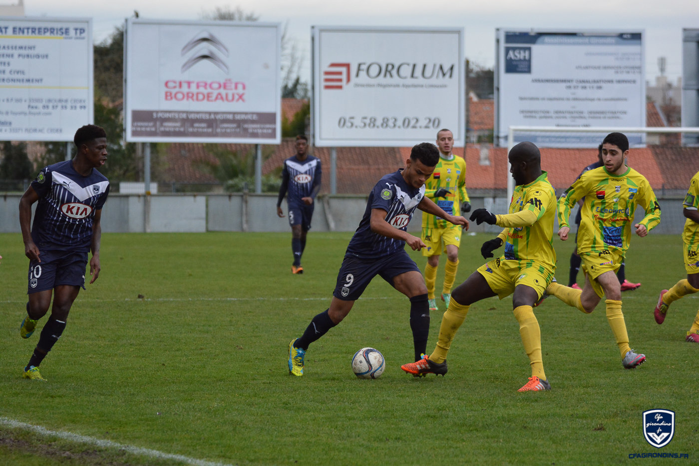 Cfa Girondins : Nilor absent plusieurs semaines - Formation Girondins