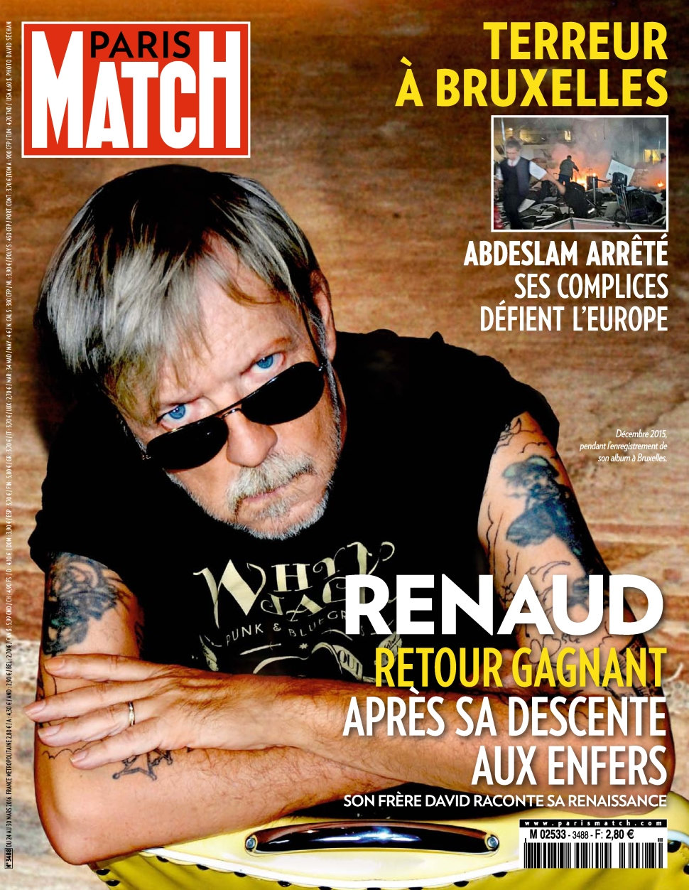 Paris Match N°3488 du 24 au 30 Mars 2016
