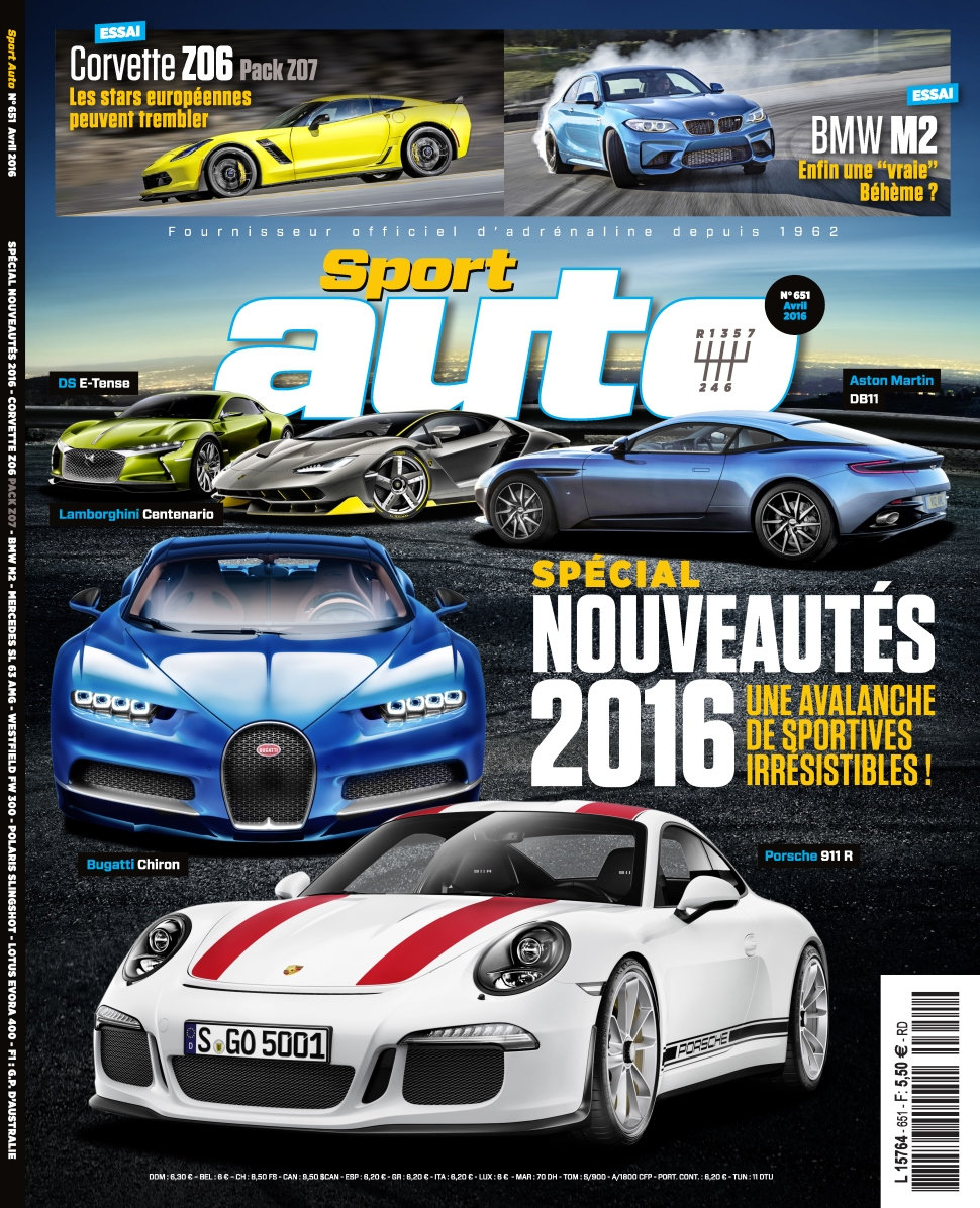 Sport Auto N°651 - Avril 2016