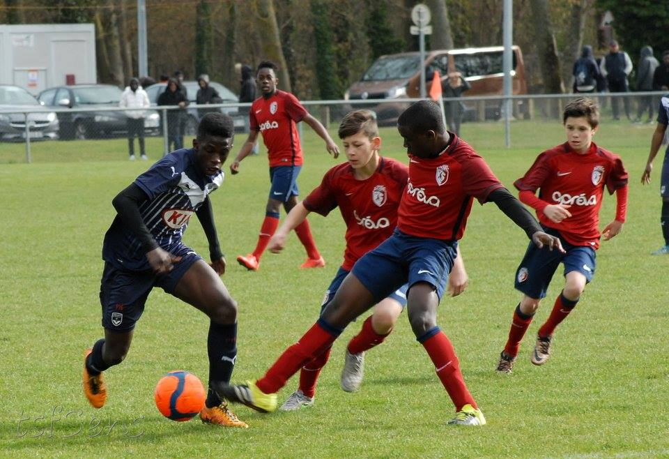 Cfa Girondins : U14 : Bordeaux - Lyon à Sens en direct ! - Formation Girondins