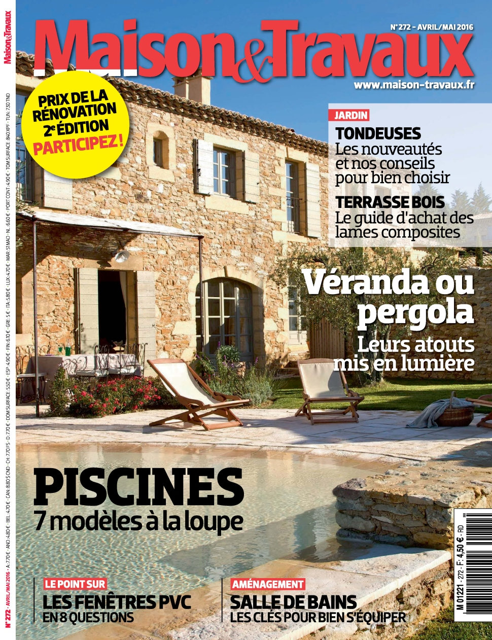 Maison & Travaux Magazine maison & travaux n°272 - avril/mai 2016 » telecharger livres