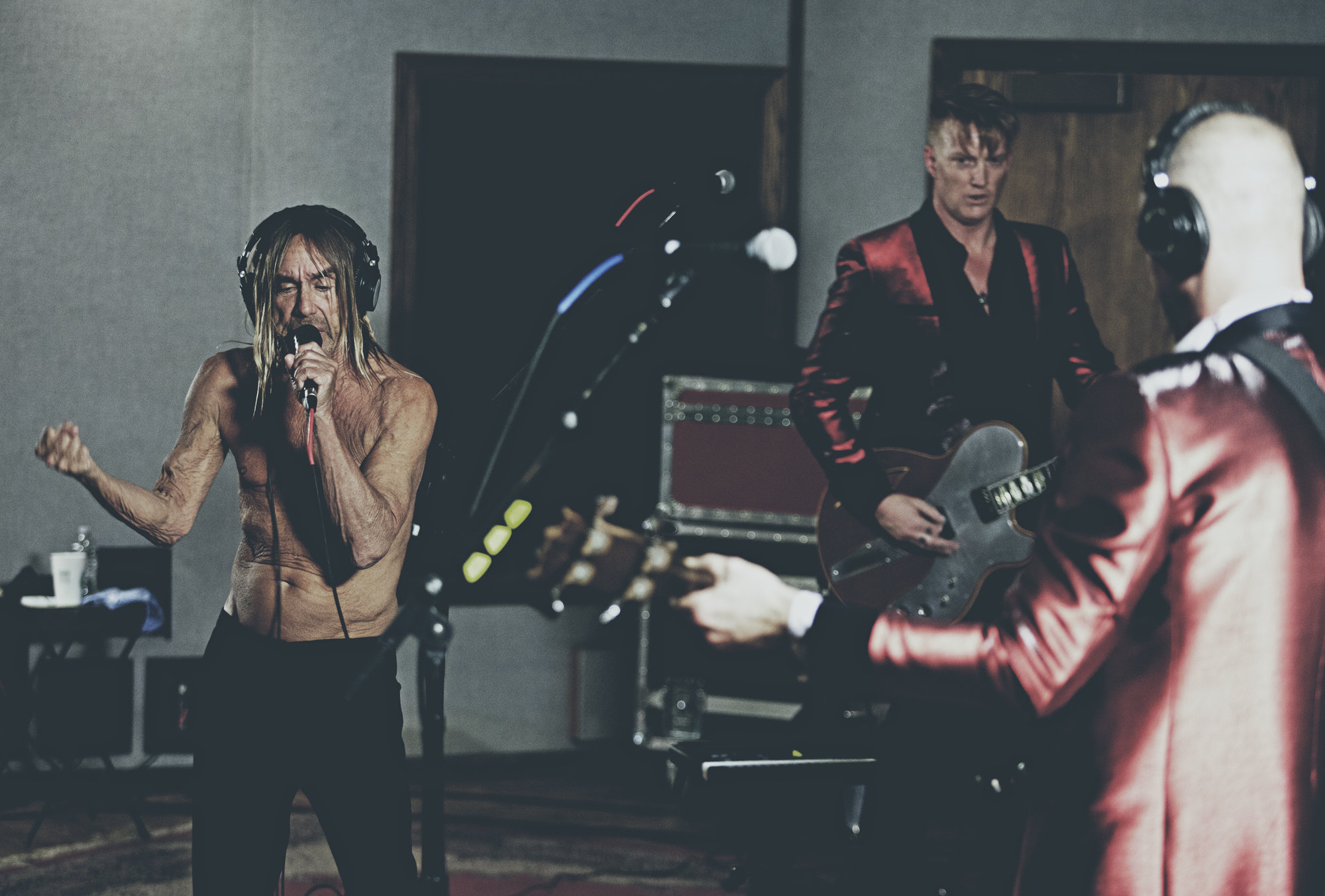 Iggy Pop & Josh Homme Live On MBE (photo par Brian Lowe)