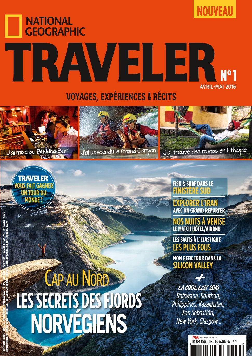 National Geographic Traveler N°1 - Avril/Mai 2016