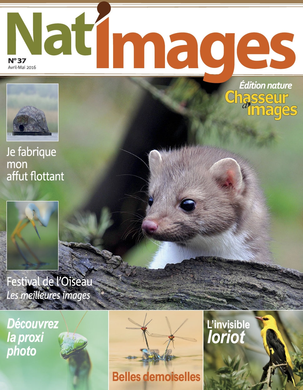 Nat'Images N°37 - Avril/Mai 2016