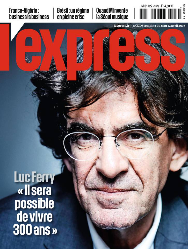 L'Express N°3379 - 6 au 12 Avril 2016