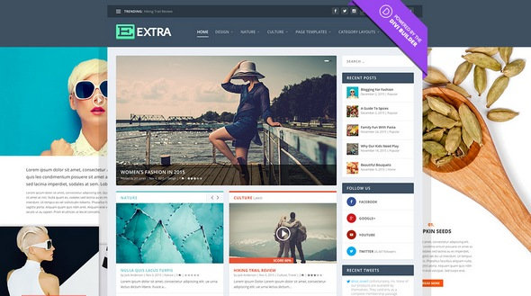 ElegantThemes - Extra v2.0.8 - Drag & Drop Magazine WordPress Theme