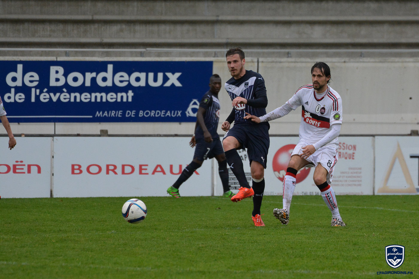Cfa Girondins : Premier Talent Foot National pour Grégory Sertic - Formation Girondins