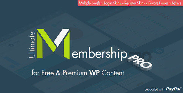CodeCanyon - Ultimate Membership Pro v4.0 - WordPress Plugin
