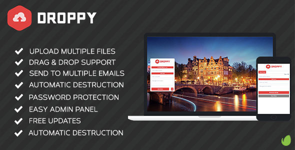 CodeCanyon - Droppy v1.3.1 - Online file sharing