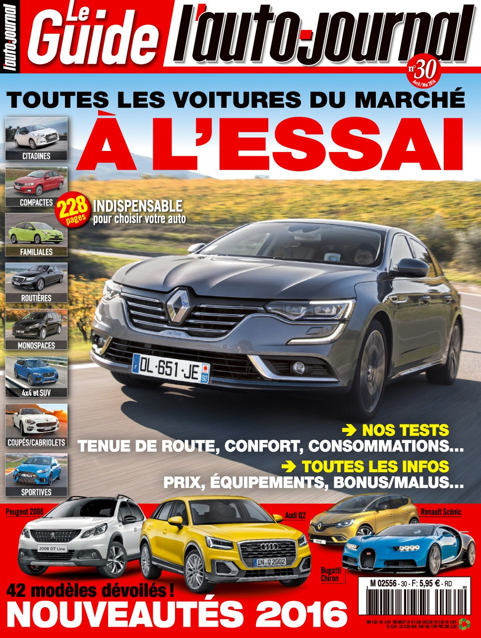 L'Auto-Journal (Le Guide) N°3 - Avril/Mai 2016