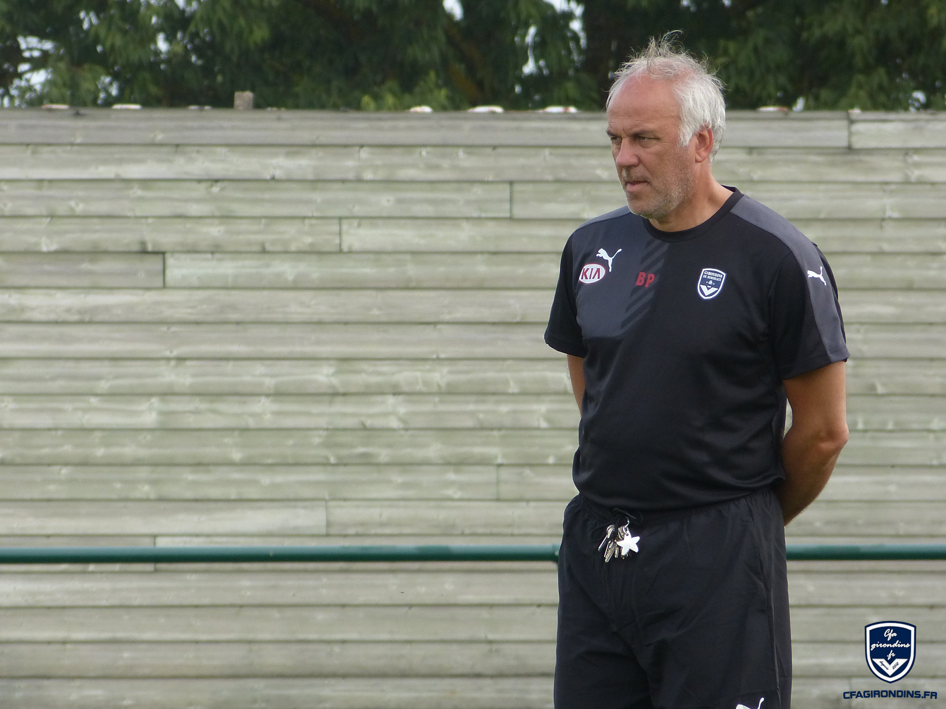 Cfa Girondins : Patrick Battiston -