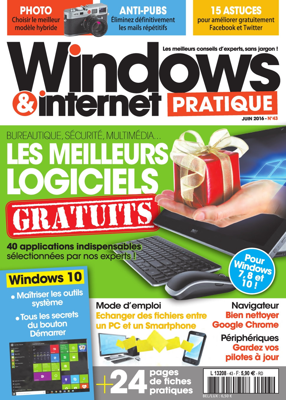 Windows & Internet Pratique N°43 - Mai 2016