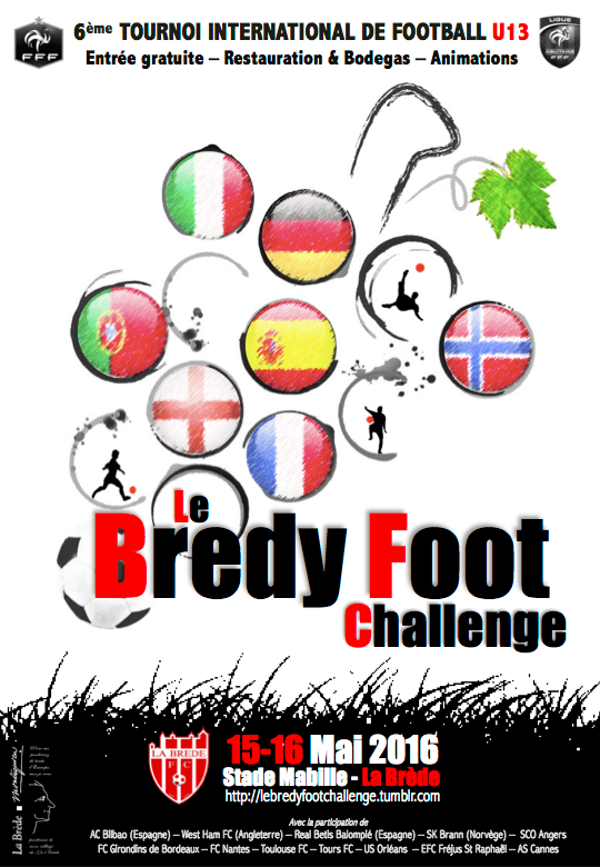 Cfa Girondins : Le Bredy Foot Challenge, c'est ce week-end - Formation Girondins