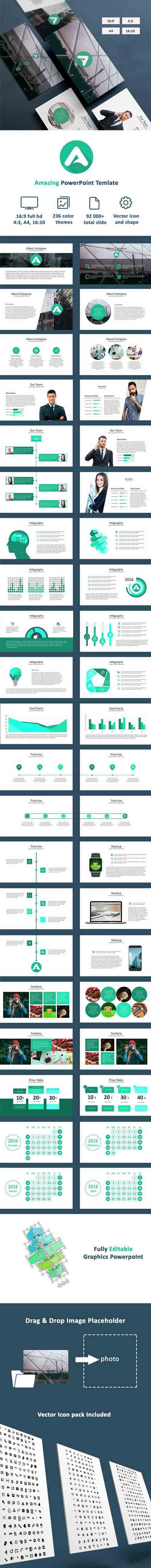 GraphicRiver - Amazing - Powerpoint Templates