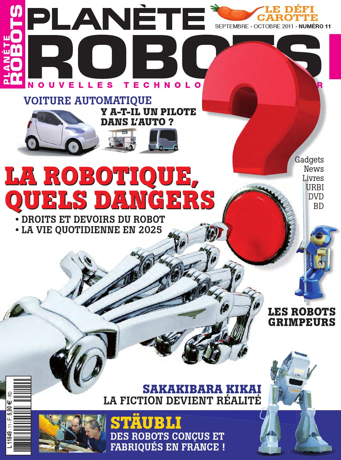 Planète Robots No.11 - La Robotique quels dangers