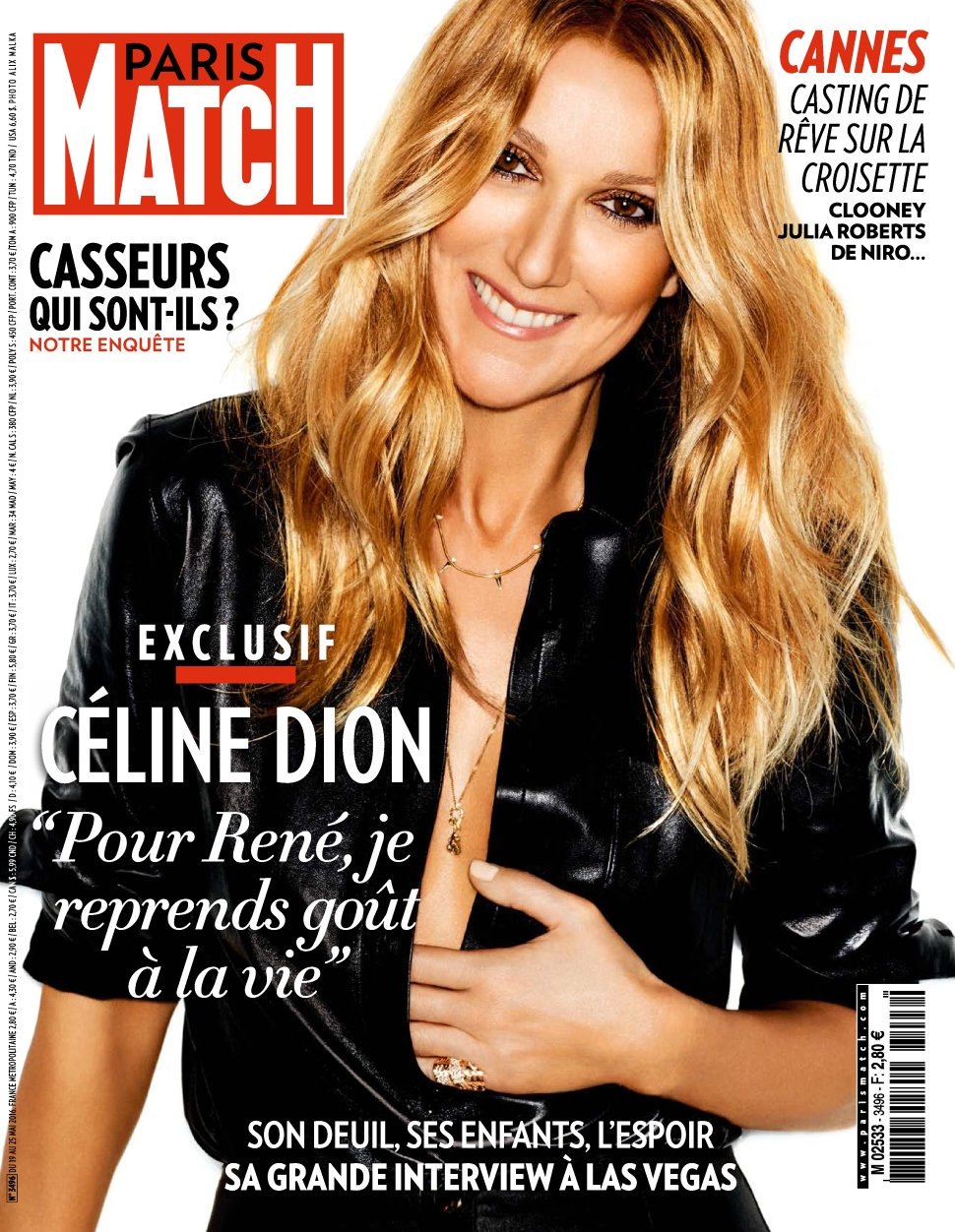 Paris Match N°3496 du 19 au 25 Mai 2016