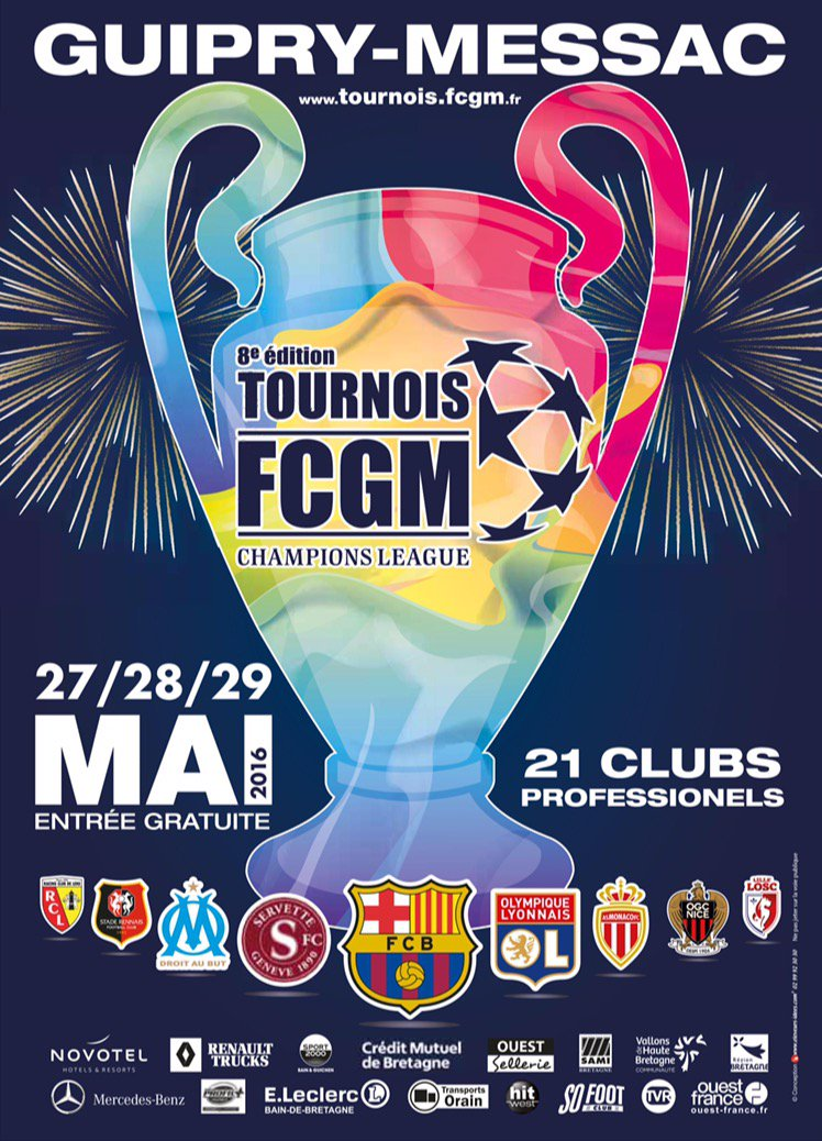 Cfa Girondins : Les U10 à la FCGM Champions League ce week-end - Formation Girondins