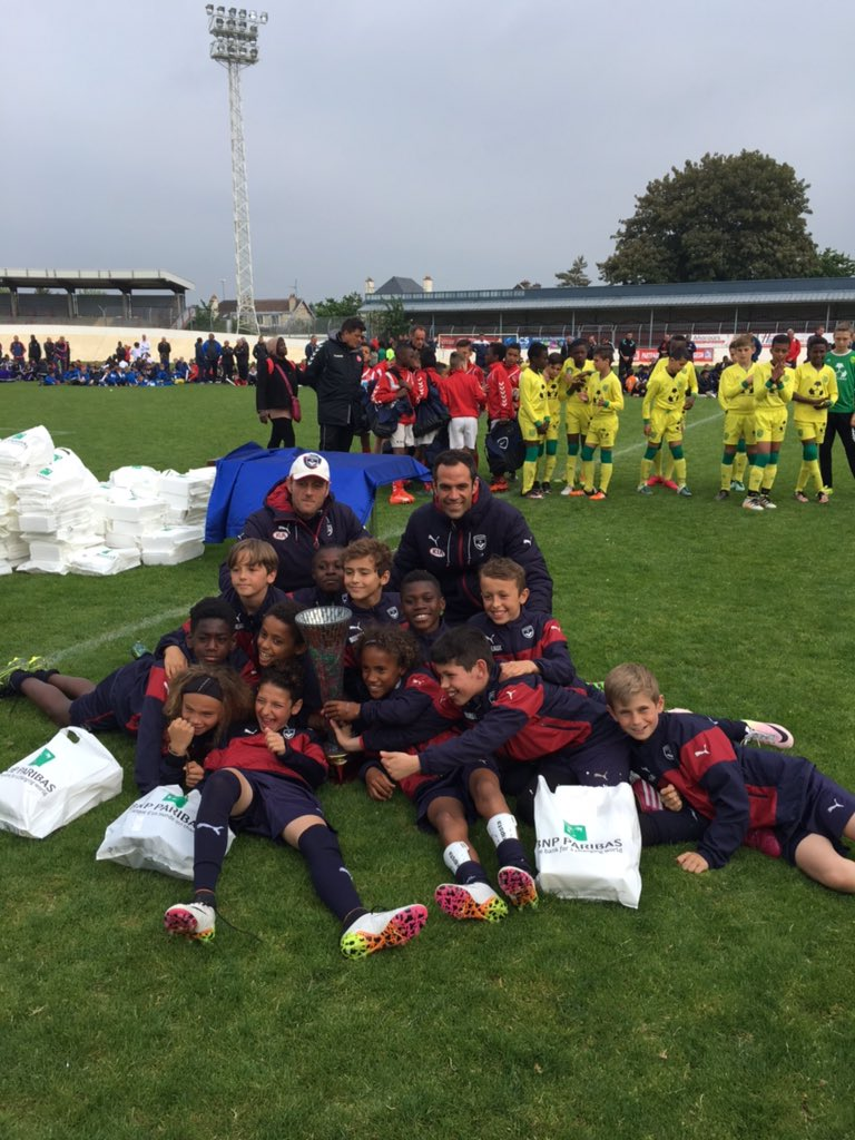 Cfa Girondins : Les U11 remportent (encore) le Challenge Jean Pingeon ! - Formation Girondins