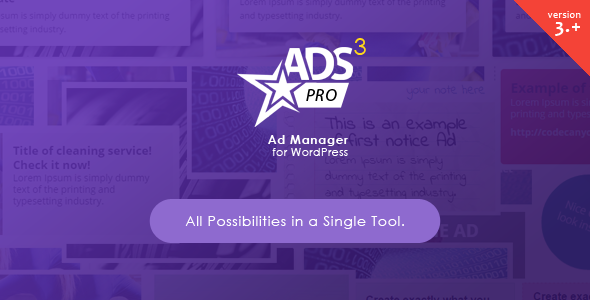 CodeCanyon - ADS PRO v3.3.0 - Multi-Purpose WordPress Ad Manager Plugin
