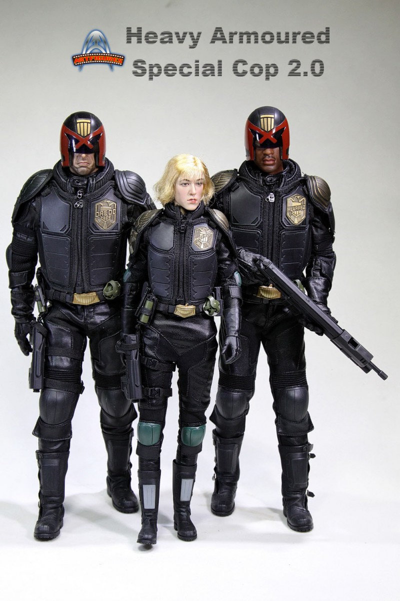 AF022 - HEAVY ARMOURED SPECIAL COP 2.0 - DREDD   Hcl8