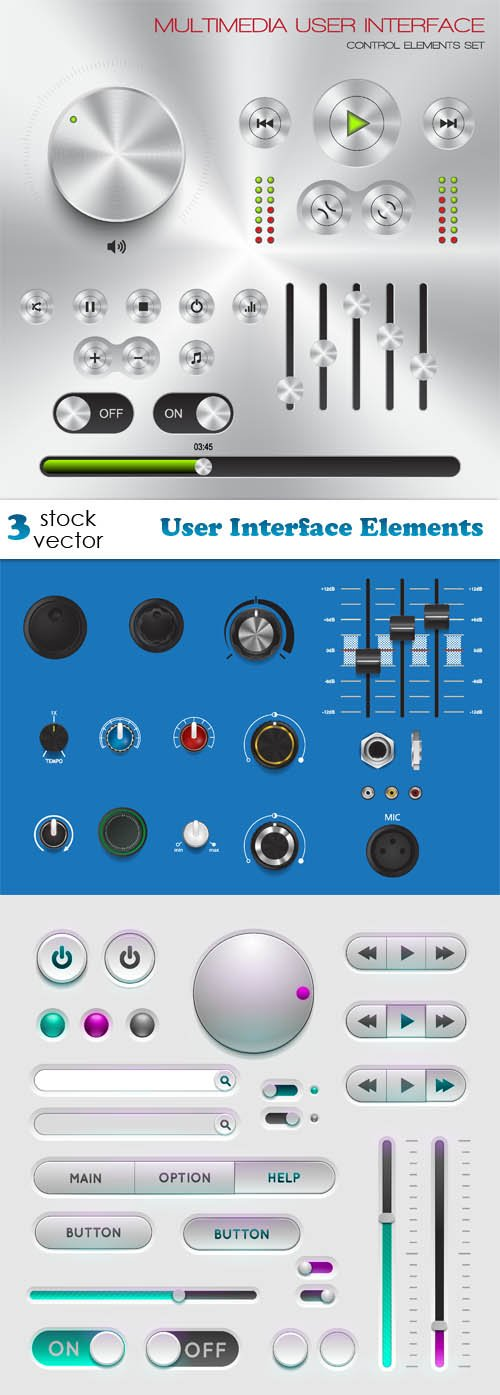 Vectors - User Interface Elements