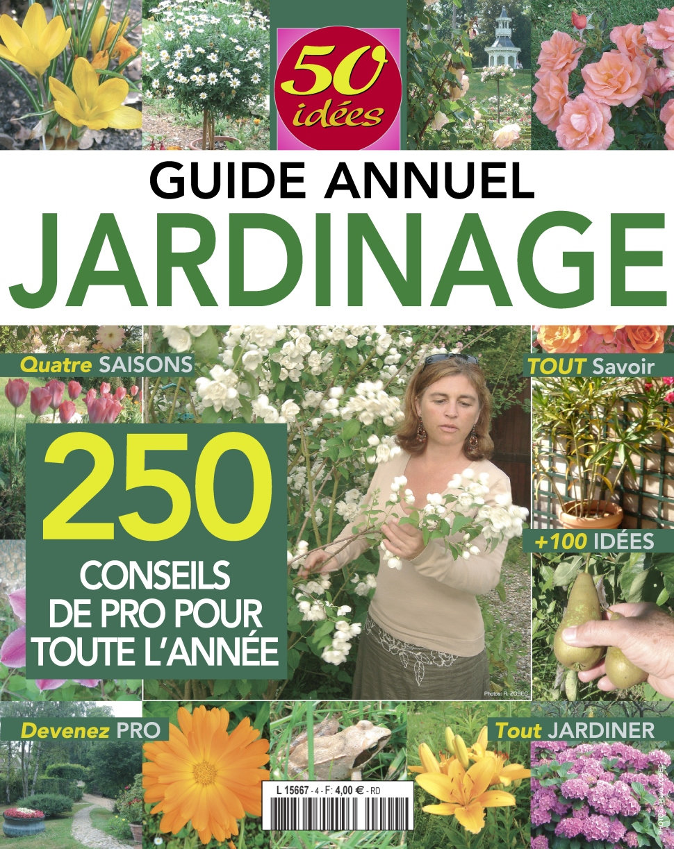 T l charger 50 id es n 4 guide annuel jardinage 2016 for Magazine jardinage