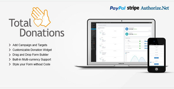 CodeCanyon - Total Donations for Wordpress v2.0.5
