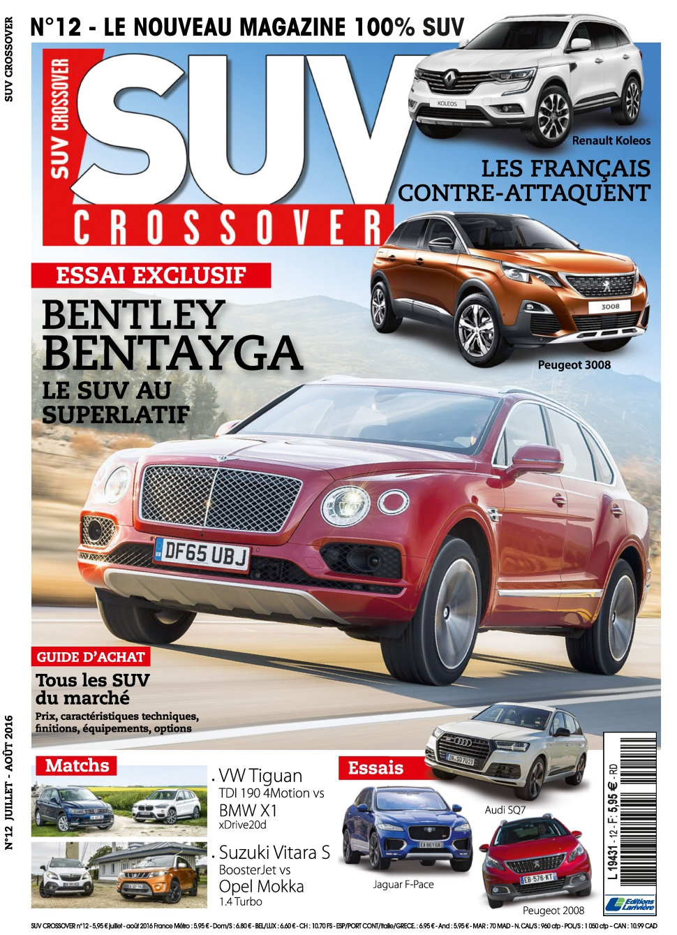 Suv Crossover N°12 - Juillet/Aout
