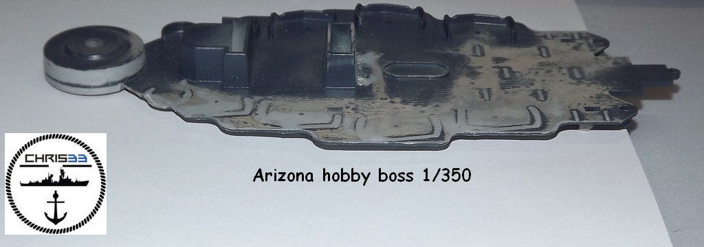 USS Arizona 1941 1/350 Axly
