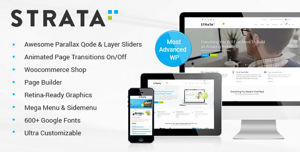ThemeForest - Strata v2.1.1 - Professional Multi-Purpose Theme