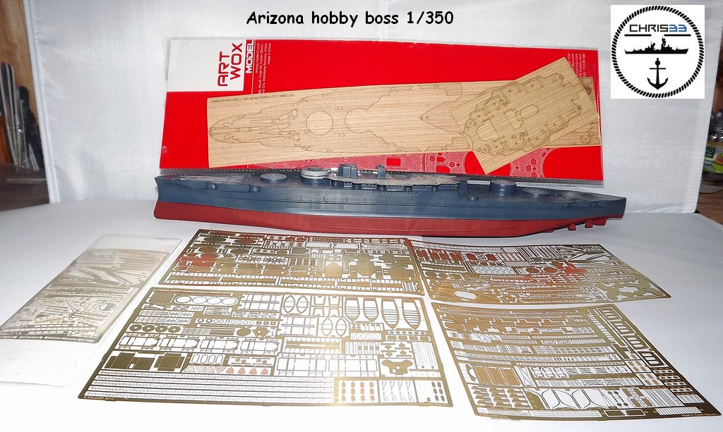 USS Arizona 1941 1/350 Qh0f