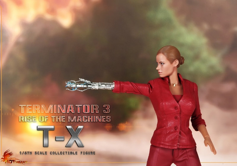 HOT HEART - TERMINATOR 3 - T-X (FD002) 7hp9