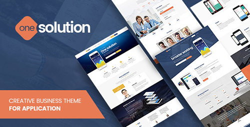 ThemeForest - OneSolution v1.0.1 - Application Showcase WordPress Theme