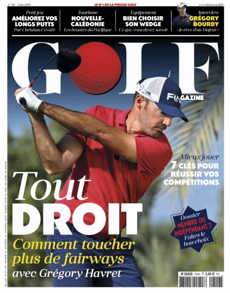 Golf Magazine France N°316 - Août 2016