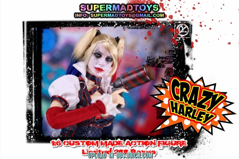 SUPERMAD TOYS - CRAZY HARLEY 901l