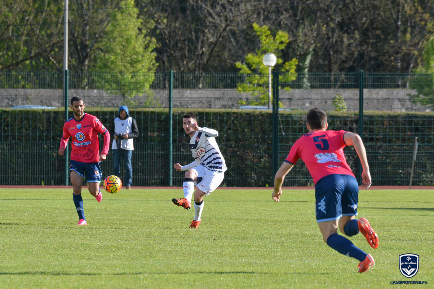 Cfa Girondins : Robin Maulun rempile aux Girondins ! - Formation Girondins