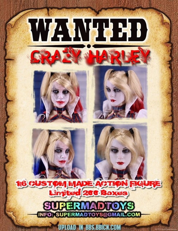 SUPERMAD TOYS - CRAZY HARLEY Dq8x