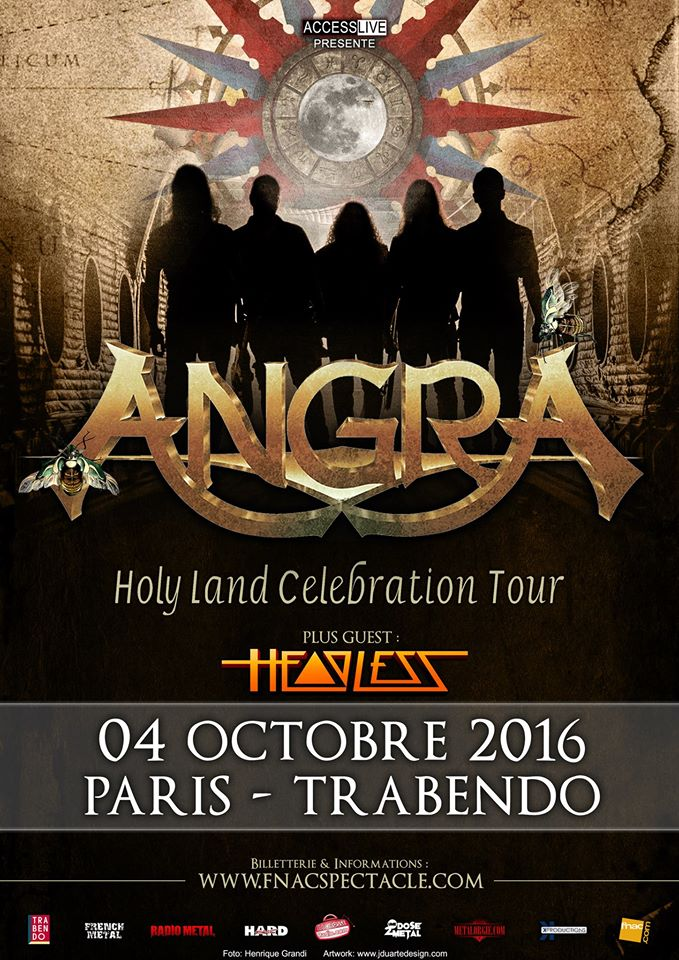 Angra - Holy Land Celebration Tour