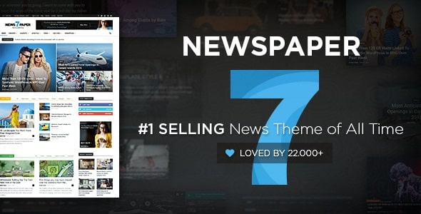 ThemeForest - Newspaper v7.3 - WordPress News Theme