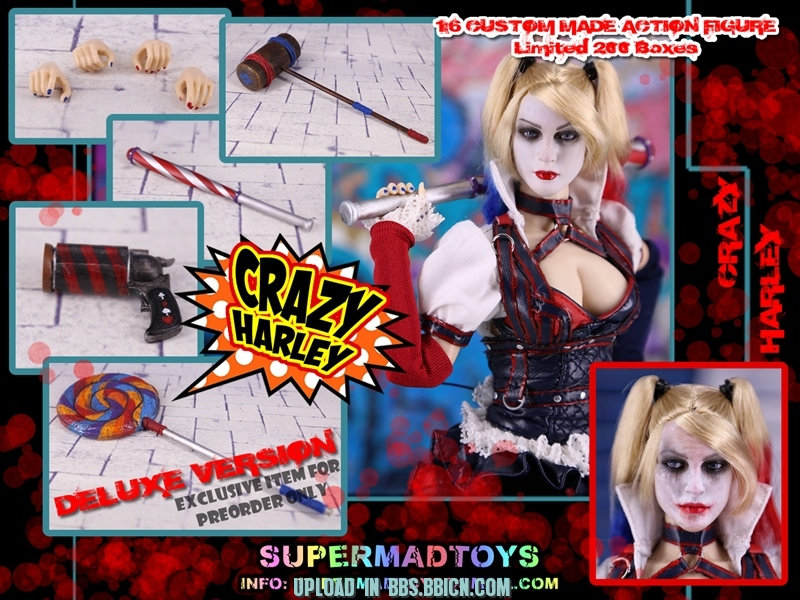 SUPERMAD TOYS - CRAZY HARLEY Smq1