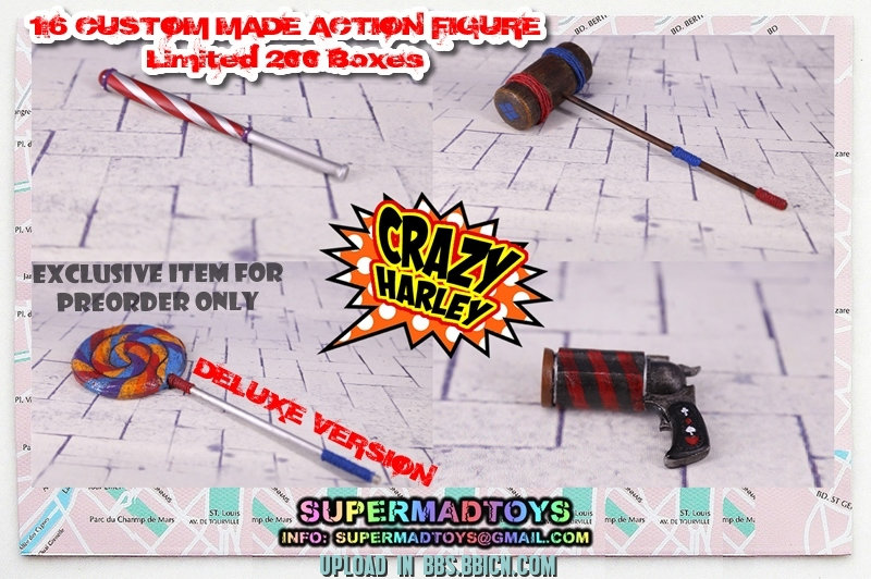SUPERMAD TOYS - CRAZY HARLEY Xzdn