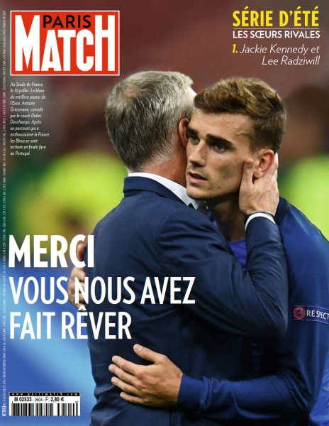 Paris Match N°3504 - 13 au 20 Juillet 2016