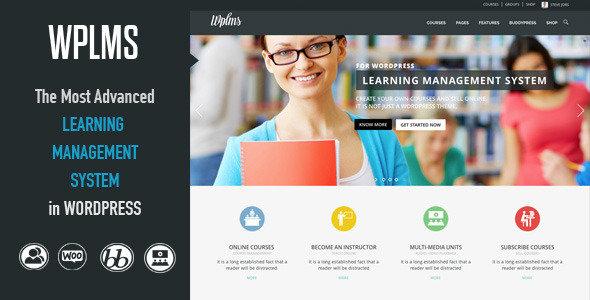 ThemeForest - WPLMS v2.2.2 - Learning Management System WordPress Theme