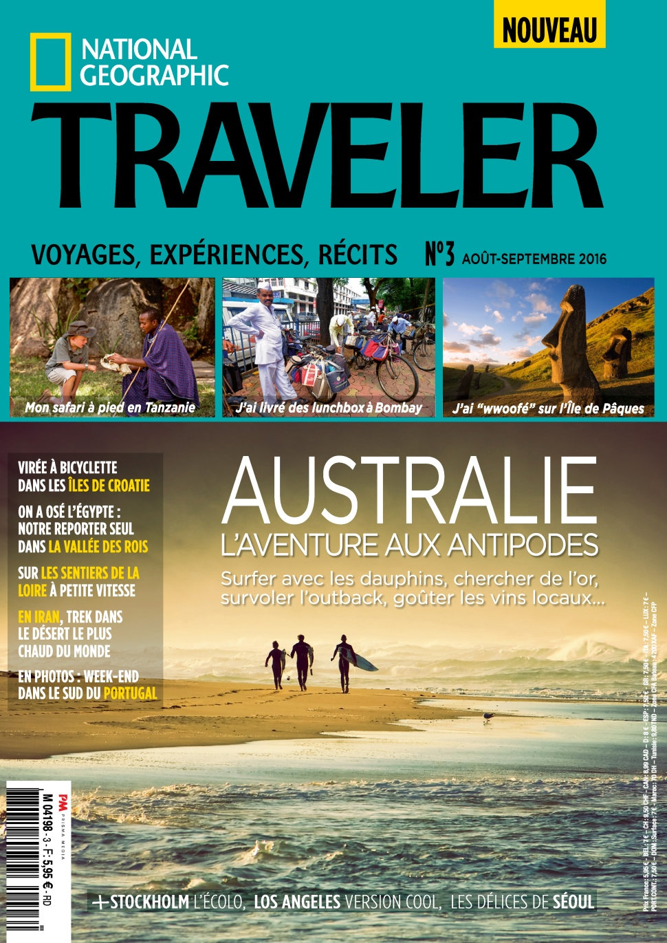 National Geographic Traveler N°3 - Septembre 2016