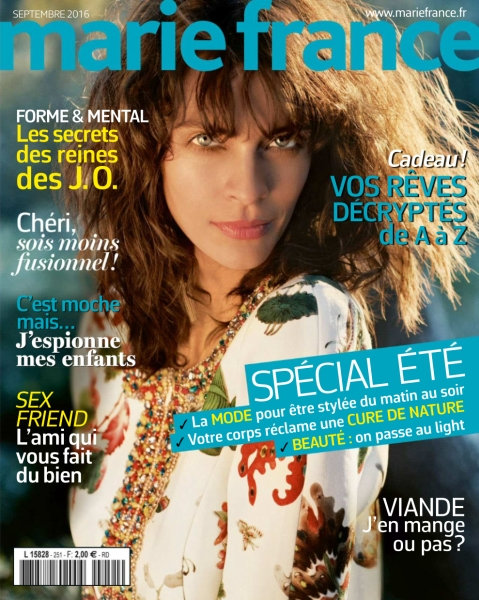 Marie France N°251 - Septembre 2016